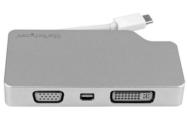 Thunderbolt 3 Display Adapter with VGA DVI and Thunderbolt Port