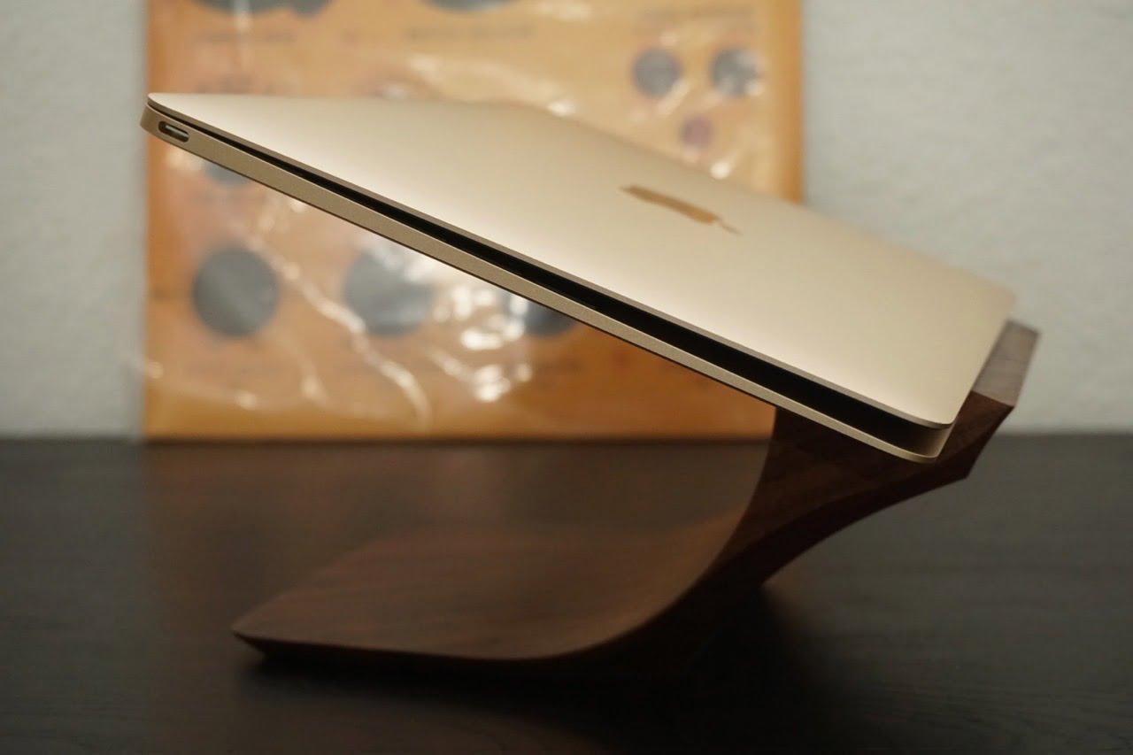 macbook air stand minimalist yohann