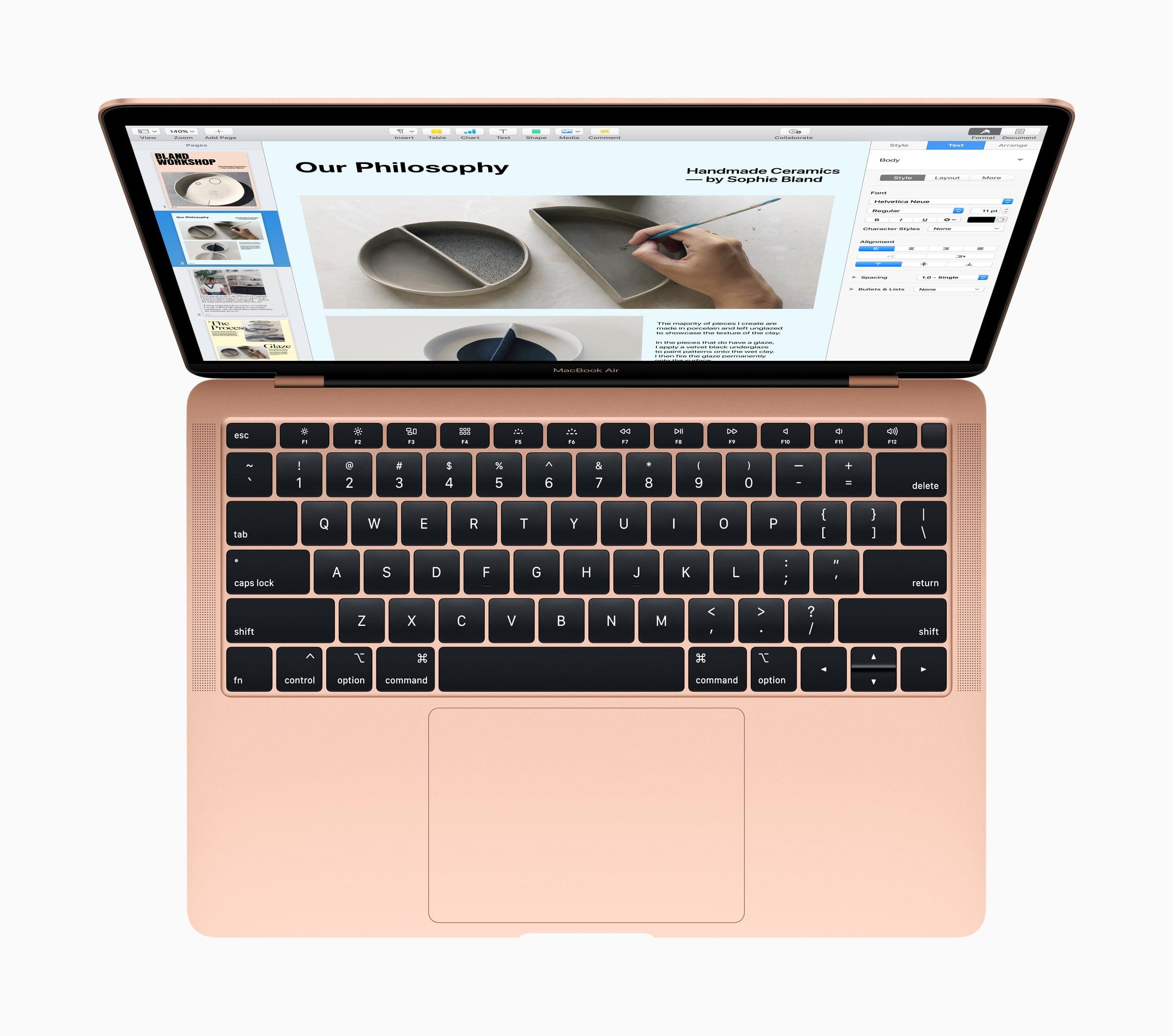 MacBook Air Butterfly Keyboard