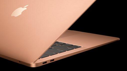 MacBook Air Keyboard and Ports 10302018