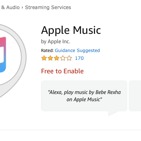 Apple Music Streaming now also available on Amazon devices – in the USA