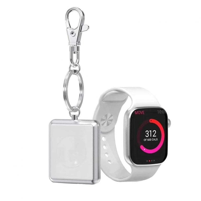 For on the go: Small travel chargers with battery for the Apple Watch