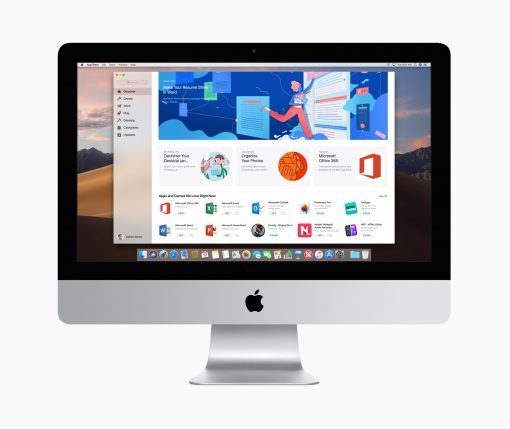 Apple iMac gets 2x more performance Mac app store 03192019