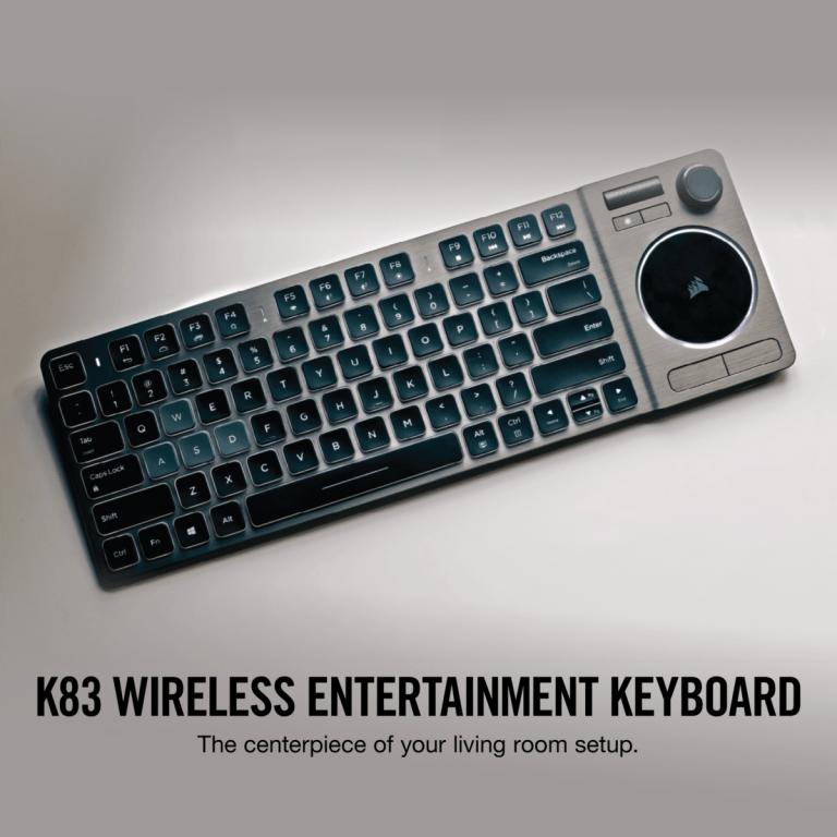 Corsair K83 Bluetooth Keyboard for Smart TVs