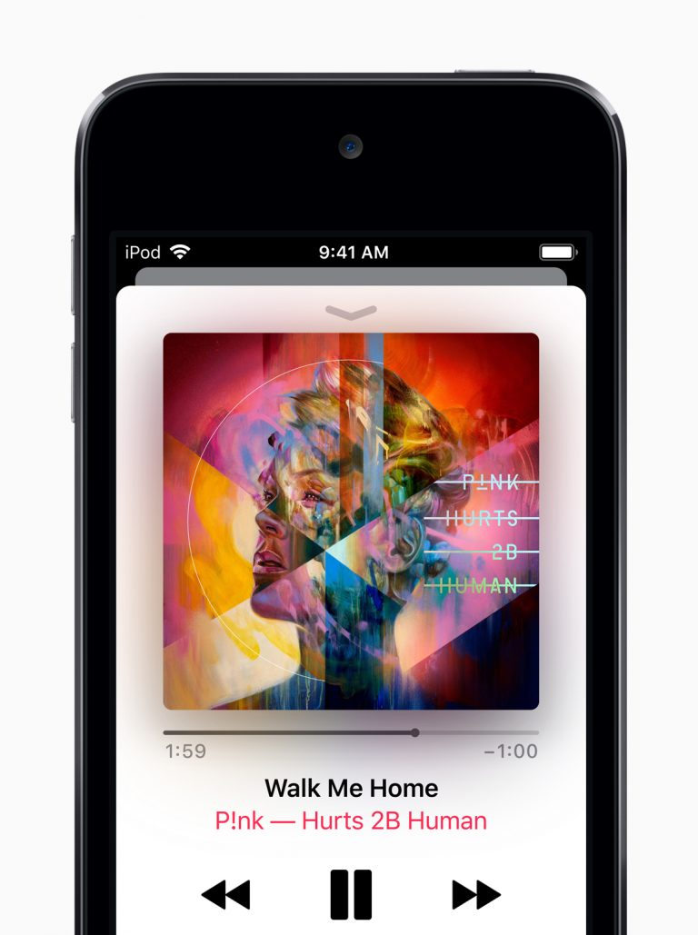 New iPod touch with 4″ display and 3.5mm headphone jack
