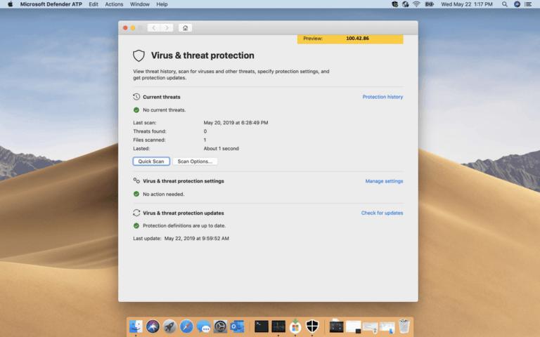 Microsoft Malware and Virus Scanner for the Mac