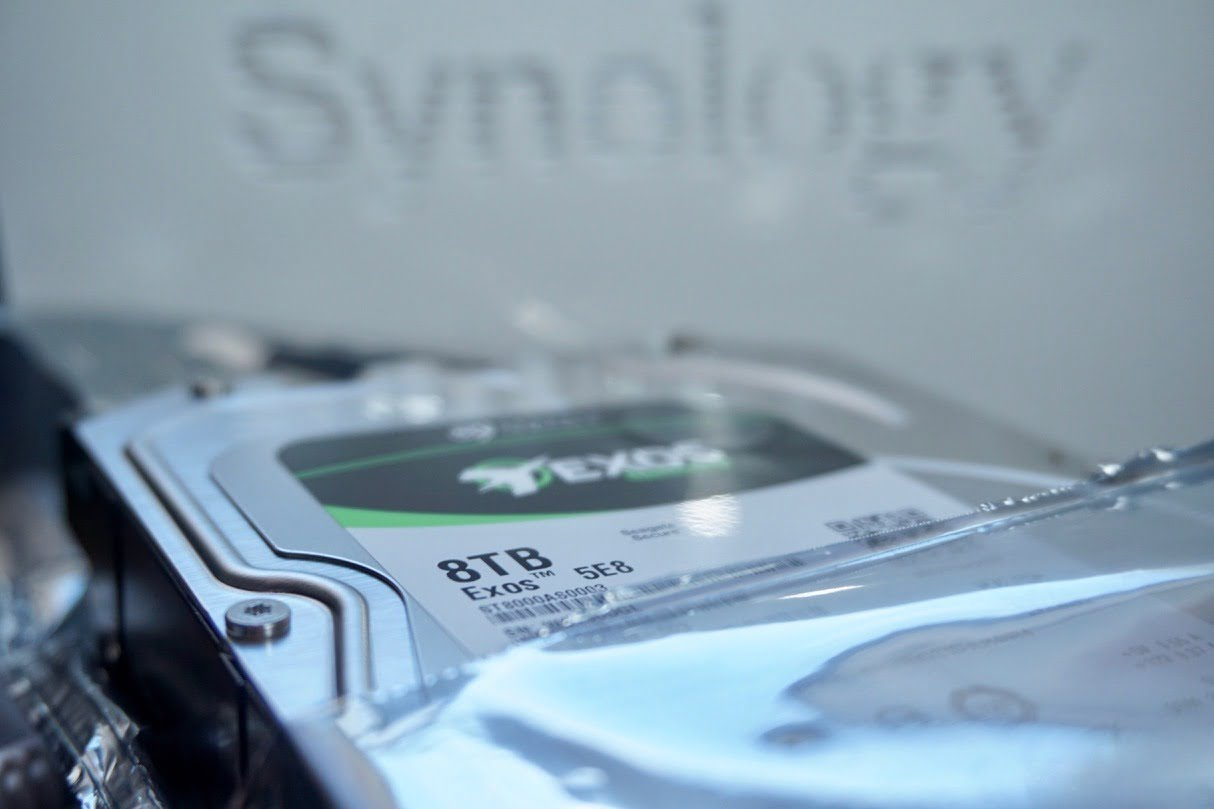 synology ds119j seagate