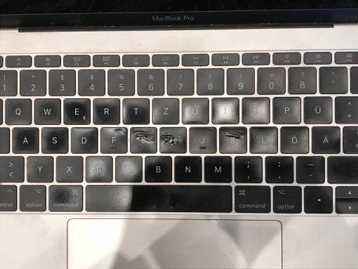macbook pro keys melted