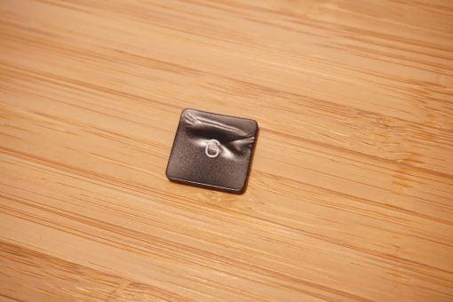 melted macbook key