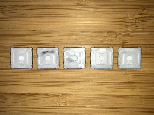 melted macbook keys back