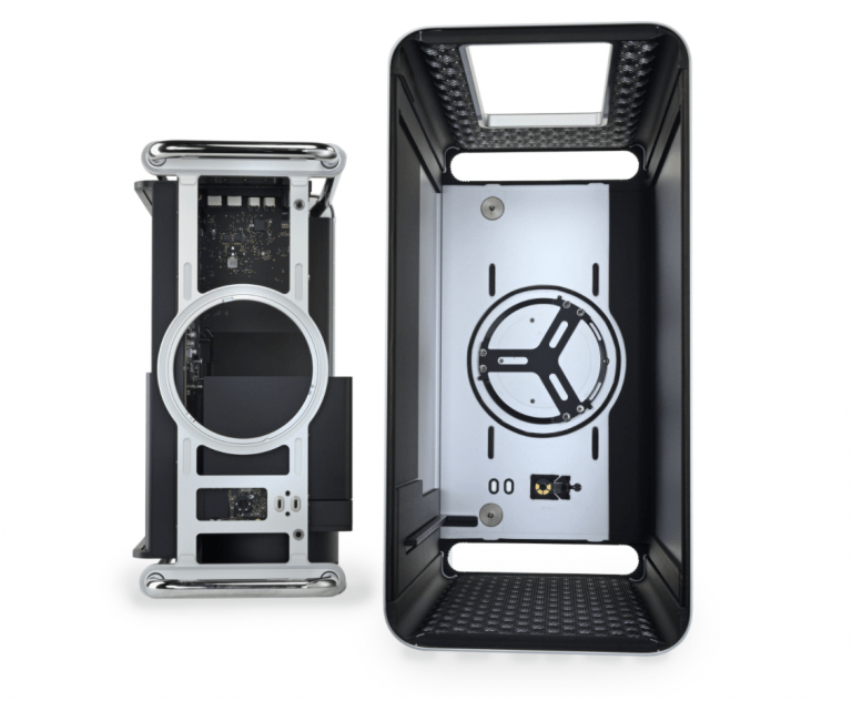 ifixit disassembles new Mac Pro: 9 of 10 points