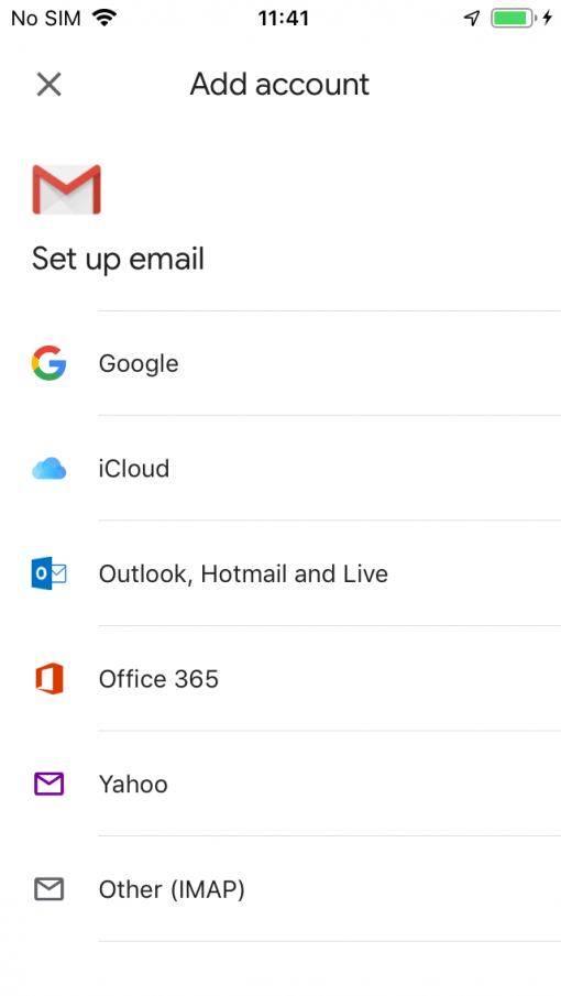 Gmail App Ios New Account