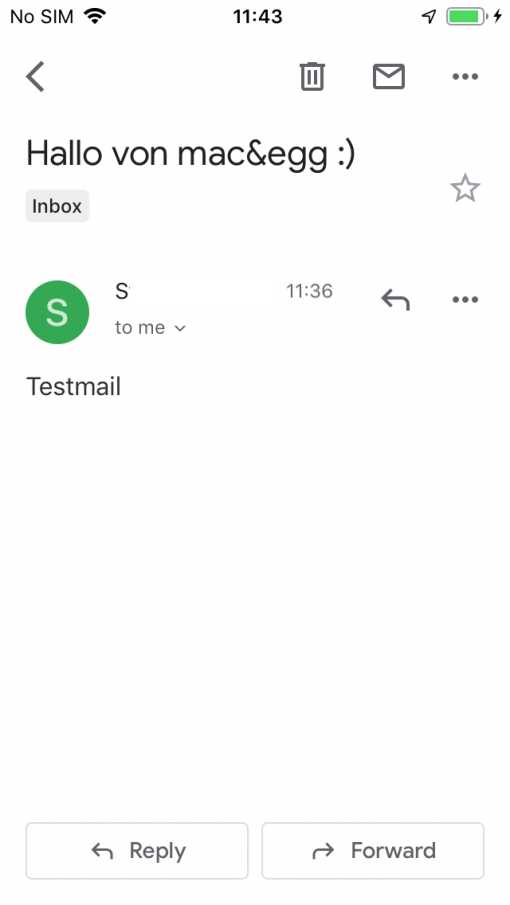 Gmail App Ios Test Mail