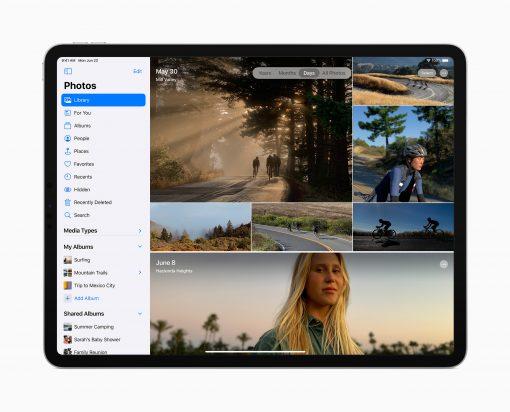 Ipados 13 Photos App