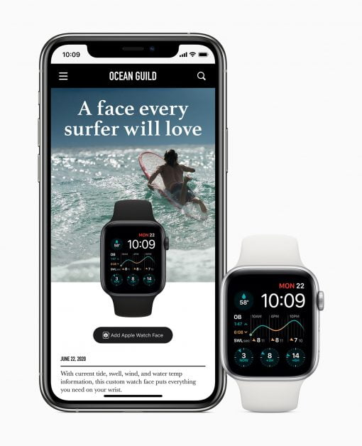 Watchos 7 Share Watch Faces