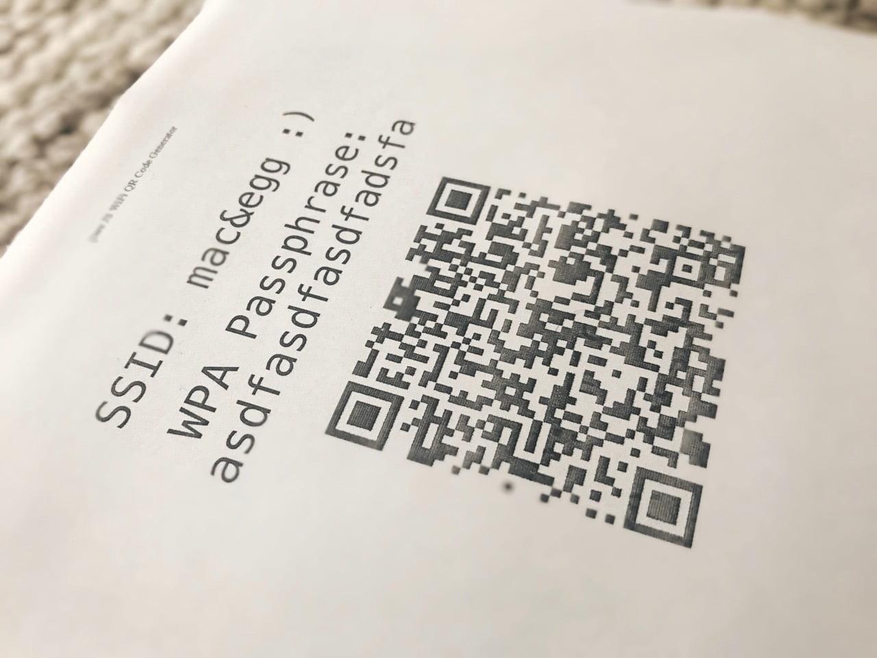 Gäste WLAN Passwort