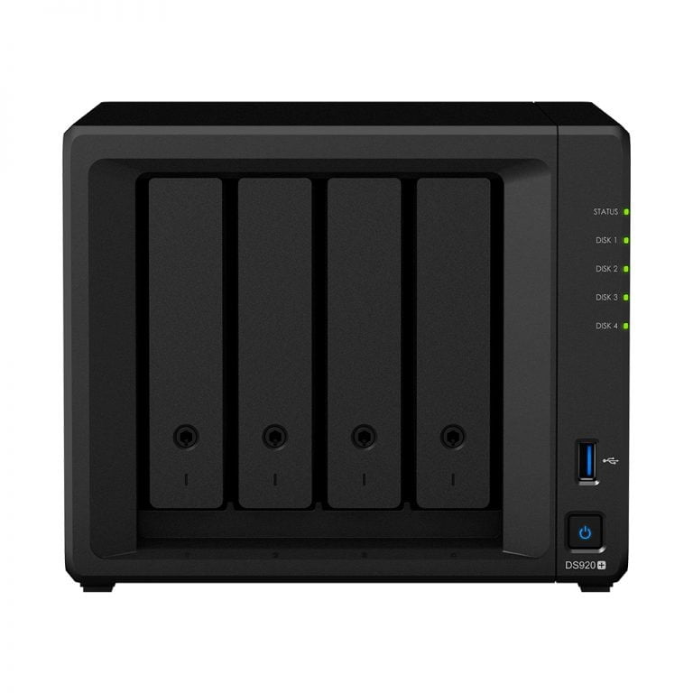 Four new Synology NAS with two and four hard drive bays