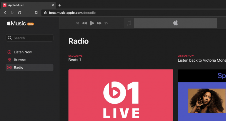 Apple Music Website for the browser is being reworked