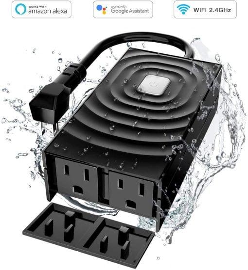 Meross waterproof Outlet HomeKit