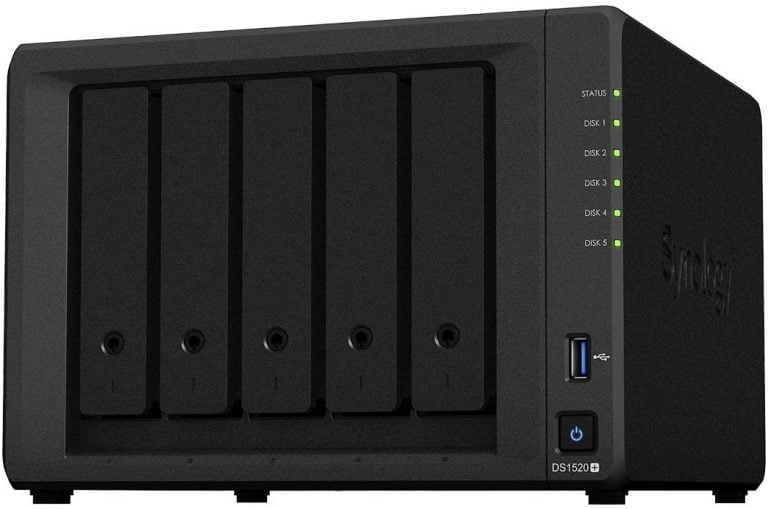 New Synology 5-Bay Model: DS1520+
