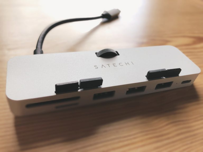 Review: Satechi iMac Front Clamp USB Hub