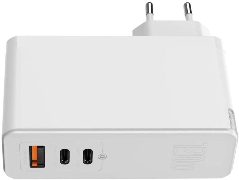 Basus Dual USB-C Power Supply with 120 Watts
