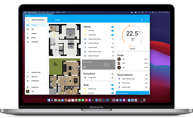 Home Assistant for macOS as beta version