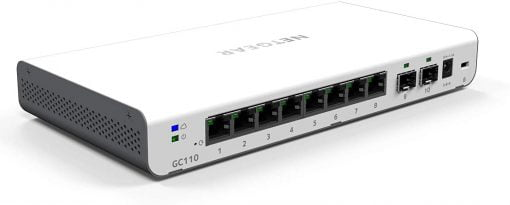 Netgear Netgear GC110 10 Port SFP Switch