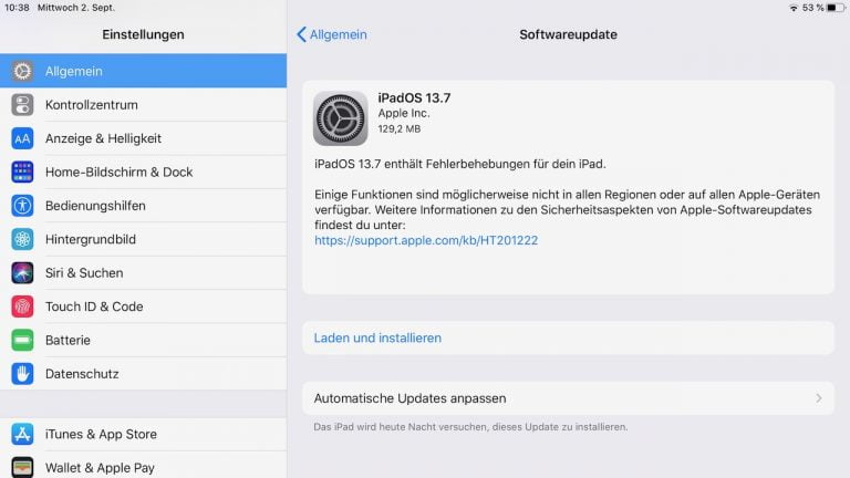 iOS and iPadOS 13.7: Security update and better covid tracking