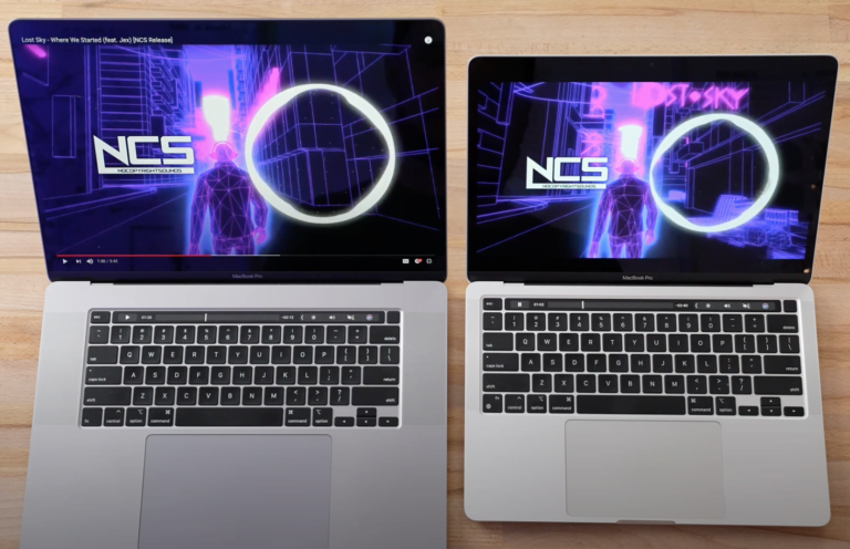 16″ MacBook Pro vs. M1 13″ Pro – David against Goliath.