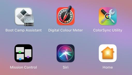 macOS 11 Big Sur Icons