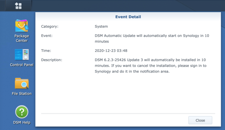 Synology DSM 6.2.3 Update 3 – last version 6 update?