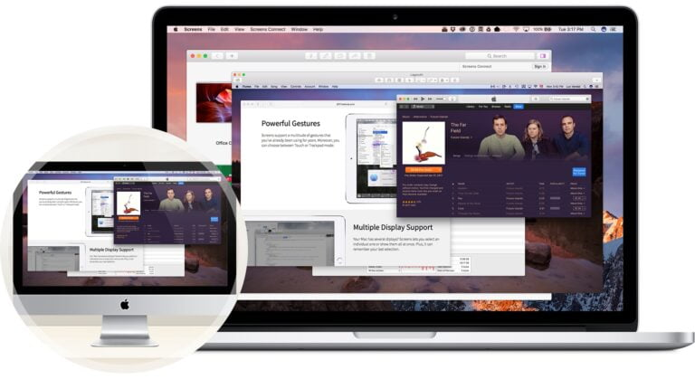 Remote access to Mac from Mac or iPhone on the go