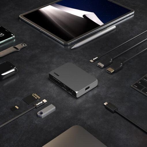 SOHO Port Layout iPad