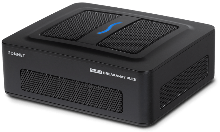 Sonnet Breakaway Puck eGPU for Intel Macs with RX 5700 and RX 5500 XT