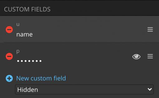Bitwaren Custom Fields