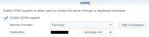 DDNS Synology