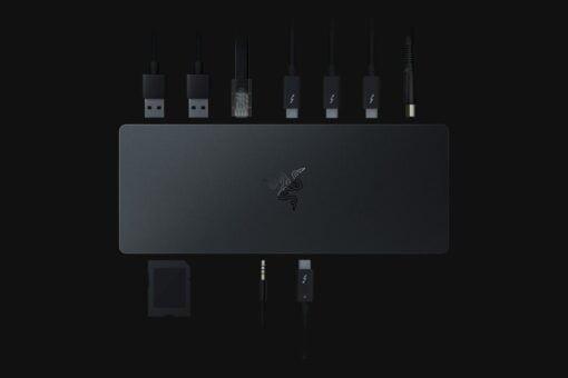 Razer Thunderbolt 4 Dock Chroma all