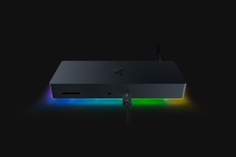 Razer Thunderbolt 4 Dock Chroma with Ethernet and SD-Card slot