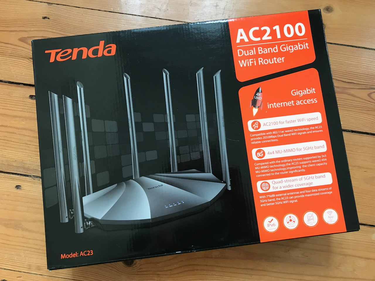 Tenda AC23 Box