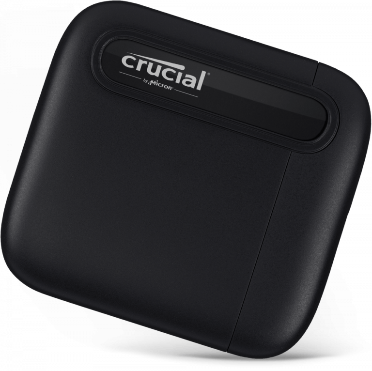 Crucial X6 Portable SSD with up to 4TB