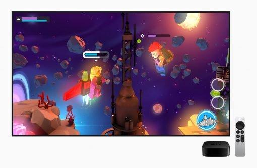 Apple unveils the next gen of appletv4k arcade screen