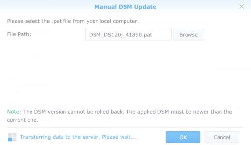DSM 7 Manual Install