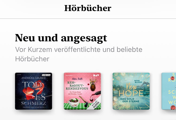 Apple removes audio books from German Apple Music