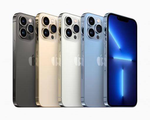 Apple iPhone 13 Pro Colors 09142021