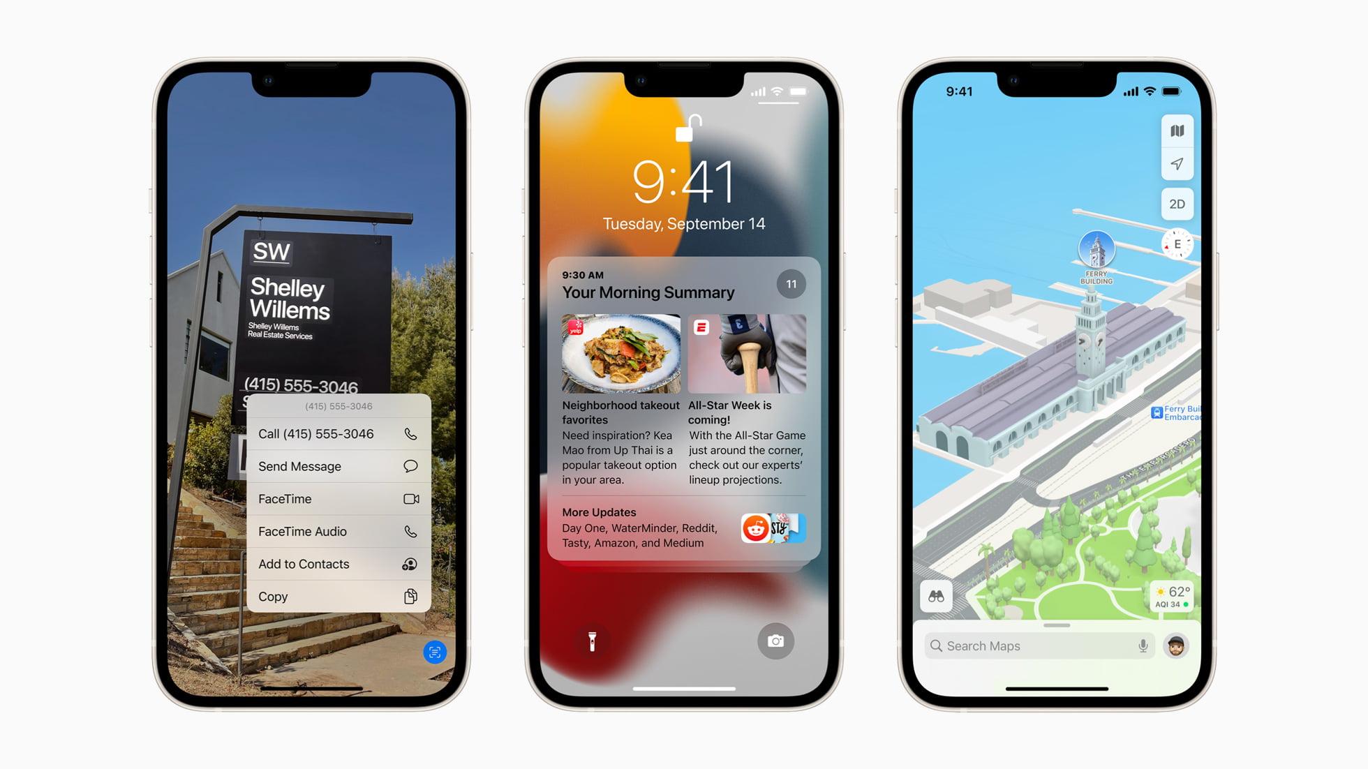 Apple iOS15 avail hero 09202021