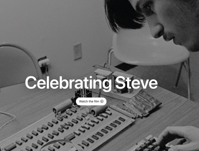 10th anniversary of Steve Jobs' death – Apple commemorates with a video