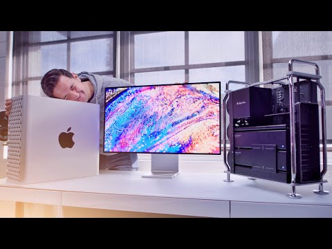 MASSIVE Mac Pro + Pro Display XDR Unboxing!